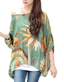 Andyshi® Women's Bohemian Style Batwing Sleeve Beach Loose