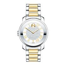 Movado Bold® Women's Bold Luxe Crystal Dial Two Tone