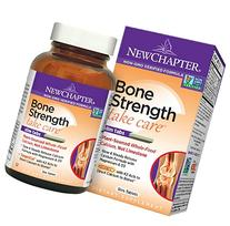 New Chapter Calcium Supplement with Vitamin K2 + D3 - Bone