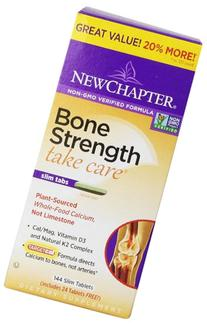 New Chapter Bone Strength Take Care Value Pack, 144 Slim