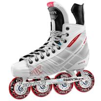Tour Hockey BoneLite 500 Inline Hockey Skate, White, 11