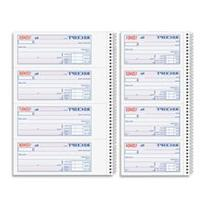 Adams Money and Rent Receipt Book, 2-Part Carbonless, 5 1/4