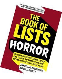 The Book of Lists: Horror: An All-New Collection Featuring