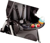 Peg Perego Book Pop Up & Book Child's Tray, Black