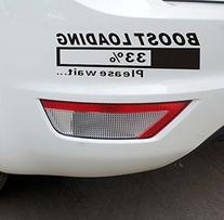 """Boost Loading, Please Wait"" Auto Rear Bumper Sticker Window"