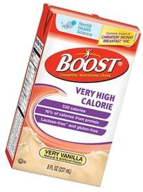 Nestle Boost® Very High Calorie Vanilla Drink 8 oz, 530 Cal