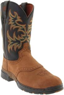 Justin Boots 9017 Men's Coffee Westerner Boots 7.5D