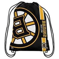 Boston Bruins Side Stripe Drawstring Backpack