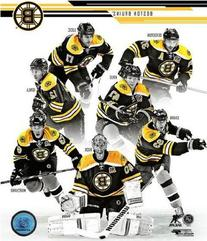 Boston Bruins 2013-2014 NHL Team Composite Photo 8x10