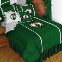 NBA Boston Celtics Sidelines Full Comforter and Sheets