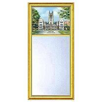 Boston College Eglomise Mirror with Gold Frame