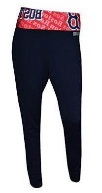Boston Red Sox Womens Navy Cameo Leggings Small