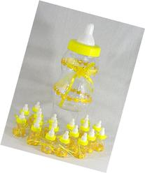 Large Baby Bottle Bank with 18 Mini Bottle Party Favors -