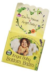 Earth Mama Angel Baby Bottom Balm, Natural Diaper Cream,