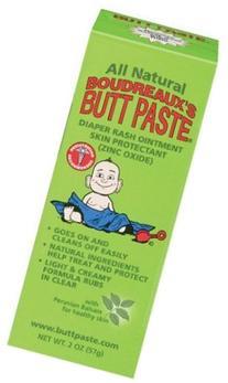 Boudreaux Butt Paste All Natural Diaper Rash Ointment - 2 oz