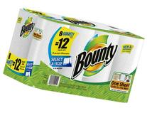 1 X Bounty Paper Towels, 8 Select A Size Giant Rolls