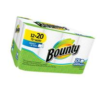 Bounty Select-A-Size White Mega Roll Paper Towels, 117