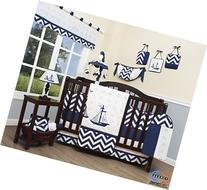 Boutique Baby Nautical Explorer 13 Piece Nursery CRIB