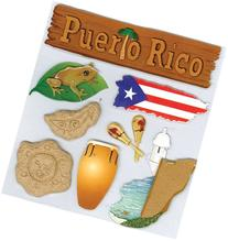 Jolee's Boutique Dimensional Stickers, Puerto Rico