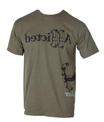 cf91a9bce String Stalker Bow Hunting Addicted Short Sleeve T Shirt -