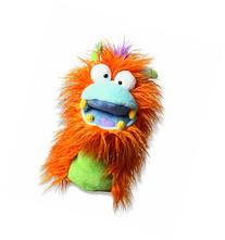 Manhattan Toy  Boylie, Fuzzy Wuggs Orange Hand Puppet