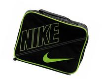 Nike Boys Black Swoosh Insulated Lunch Box Black/Volt