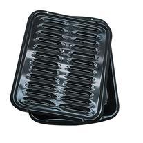 Range Kleen Bp102x Porcelain Broiler Pan W/ Grill