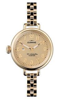 Women's Shinola 'The Birdy' Bracelet Watch, 34Mm
