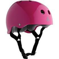Triple Eight Helmet with Sweatsaver Liner, Pink Glossy,