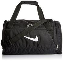 Nike Brasilia 6 Duffel Bag Black/White Size X-Small
