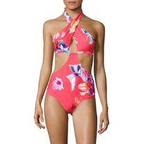 6 Shore Road by Pooja Brava Floral One-Piece Swimsuit