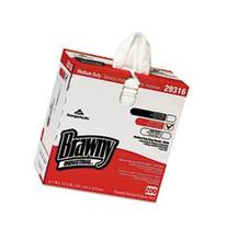 "** Brawny Industrial Lightweight Shop Towel, 9 1/10"" x 12 1/"