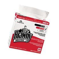 Brawny Industrial 2007003CT Medium-Duty Premium Wipes, 9 1/4