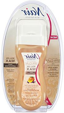 Nair Brazilian Spa Clay Roll-on Wax - 5.7 Ounce, 12 Pack