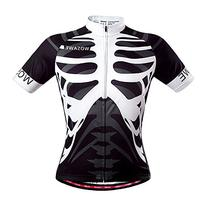 WOSAWE Mens Breathable Cycling Jersey