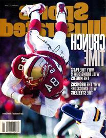Brent Jones Autographed 1998 Sports Illustrated Magazine