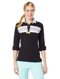 Equine Couture Women's Brentwood Long Sleeve Polo, Petal
