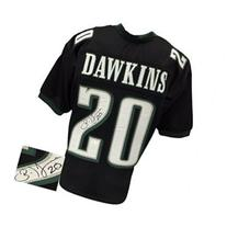 Brian Dawkins Signed Black Custom Pro-Style Football Jersey