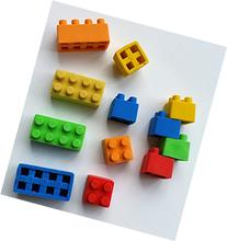 Brick Erasers & Sharpeners - 24 Pieces, Connects & Stacks
