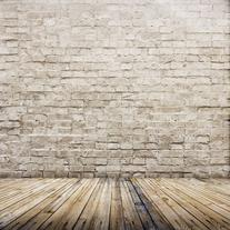 LB 8x8ft Brick wall Poly Fabric Customized photography
