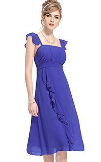ACEVOG Women's Bridesmaid Evening Party Prom Chiffon Gown