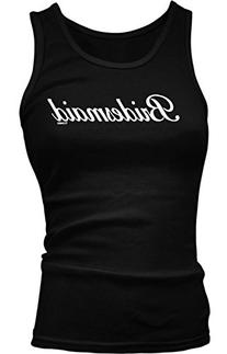 Bridesmaid - Wedding Girls / Juniors Tank Top T-shirt