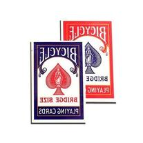 Bicycle Bridge Standard Index Playing Cards - 1 Red Deck and