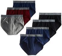 BVD Men's 7 Pack Fashion Brief, Multi, Large