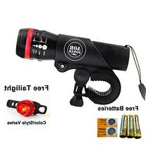 AOR Power Bright LED Bicycle Lights- Tools-free Installation