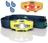 BrightSpark Compact LED Headlamp, Water Resistant, Powerful