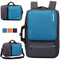 Socko 10-17-Inch Nylon Padded Laptop Backpack with Handle