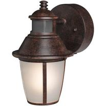Brinks 180 Degree Tisdale Motion Activated Security Lantern