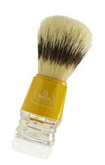 Omega 10218 Pure Bristle Shaving Brush Yellow