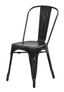 Office Star Bristow Metal Seat and Back Armless Chair,